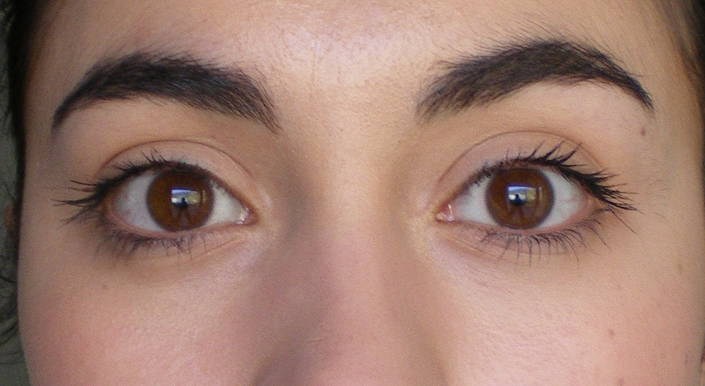 les sourcils mon blog de fillemon blog de fille - Coloration Sourcils Noir