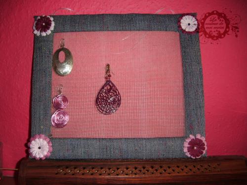 Comment vous rangez vos boucles d oreilles mon blog - Comment faire un porte bijoux soi meme ...