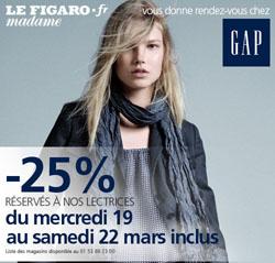 beaute 25% chez Gap (pour de vrai ; ) maquillage