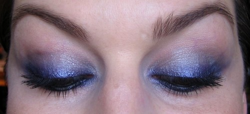 beaute Mini smoky violet maquillage