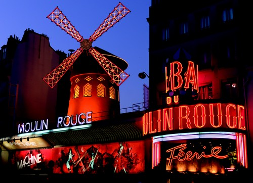 beaute Au Moulin Rouge avec Make Up Forever