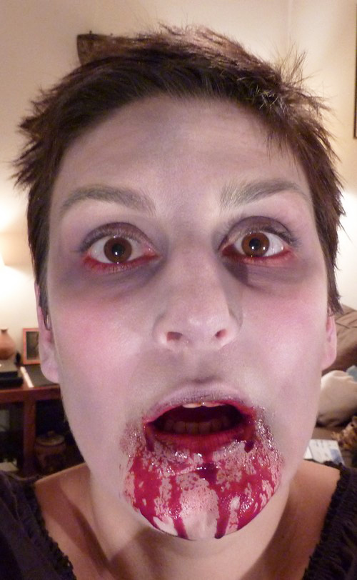 Maquillage zombie facile r aliser - Maquillage de zombie facile a realiser ...