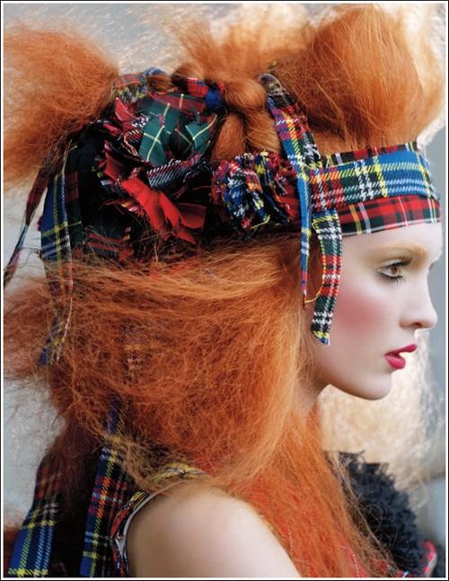 beaute Soirée écossaise chez MAC Saint Michel le 4 novembre ! maquillage