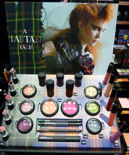 beaute Soirée Tartan chez MAC Saint Michel maquillage