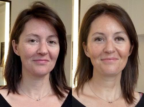 maquillage femme de 60 ans