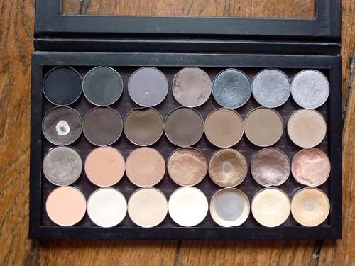 beaute Ma nouvelle palette de neutres MAC maquillage