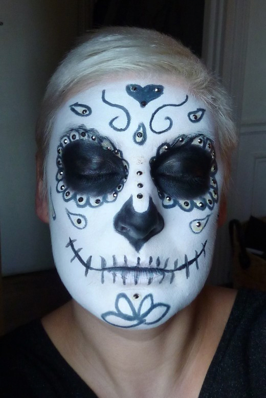 beaute Halloween : Sugar Skull