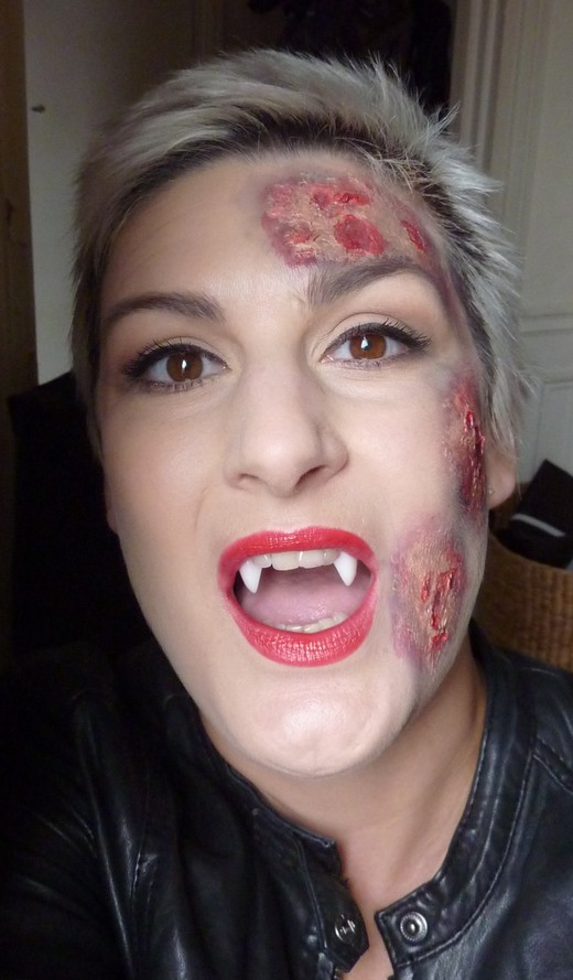 beaute Halloween : True Blood saison 4 maquillage