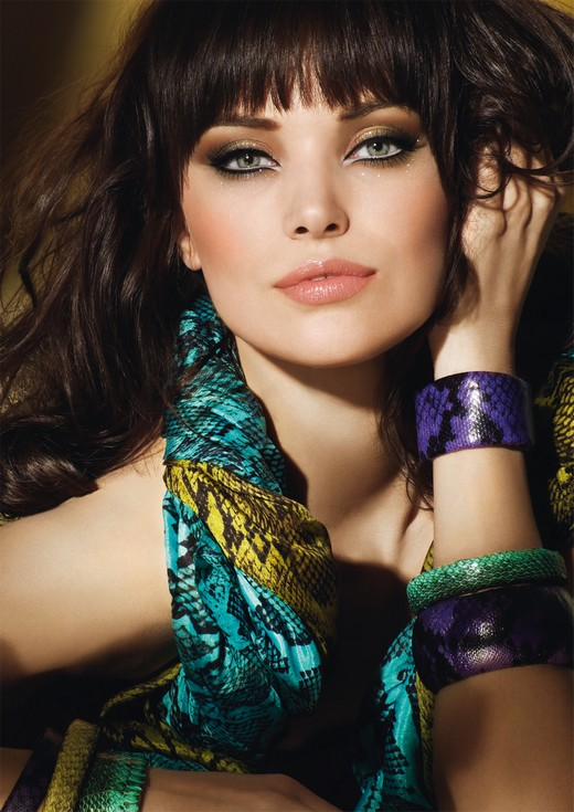 make up forever wild and chic noel visuel collection Make up Forever Wild & Chic, les coulisses