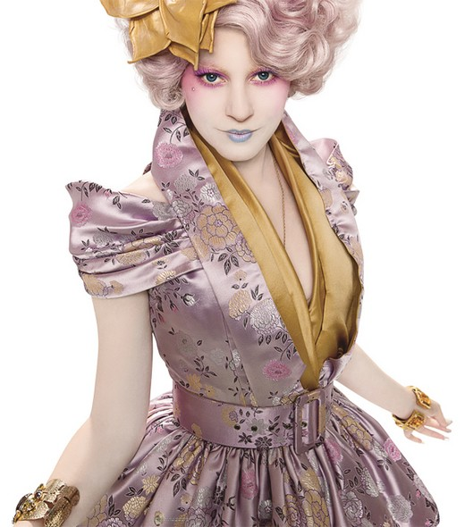 beaute The Hunger Games   Effie Trinket maquillage
