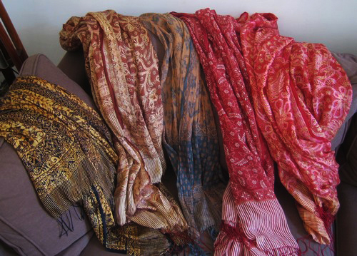 foulards indonésiens