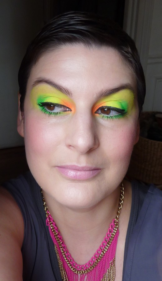 beaute Neon Make Up maquillage