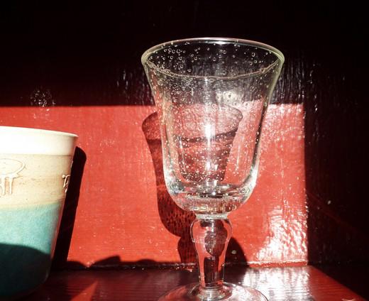 verre placard