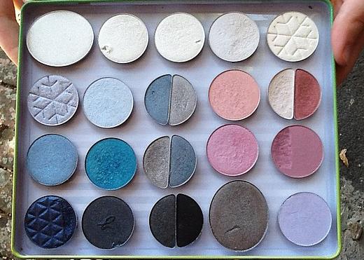 beaute Comment fabriquer une Z palette quand on n'a pas les moyens d'acheter une Z palette, par Eleanor Rigby maquillage