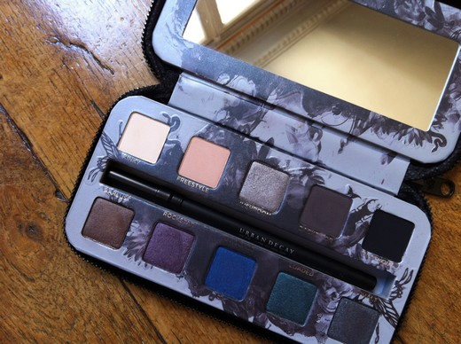 beaute La palette Urban Decay Smoked maquillage