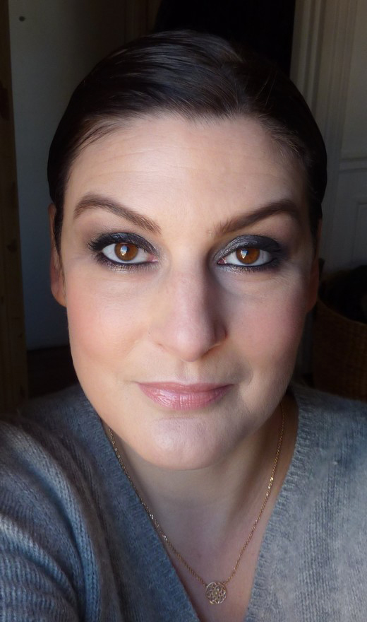 beaute Smoky avec la palette Smoked Urban Decay maquillage
