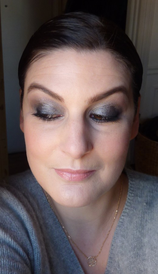 beaute Smoky avec la palette Smoked Urban Decay