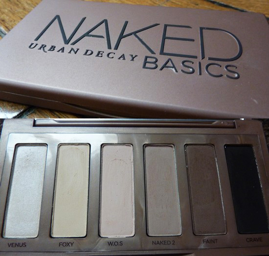 beaute Revue : Palette Urban Decay Naked Basics maquillage