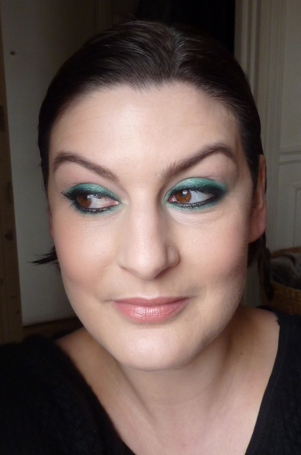 beaute Du vert pour la Saint Patrick maquillage