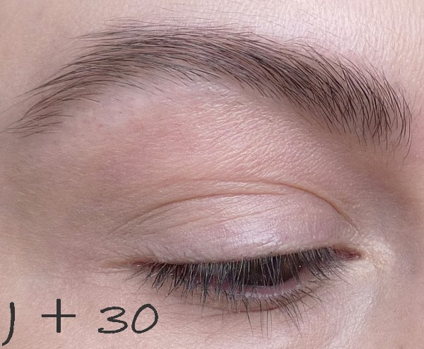 beaute Revitabrow, le point à J + 30 maquillage