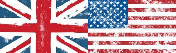 drapeaux anglophones