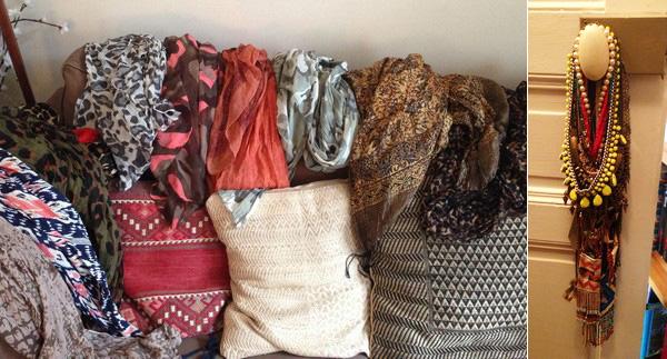 foulards et colliers