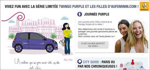 twingo purple