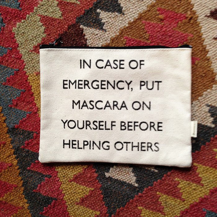 beaute In case of emergency... maquillage