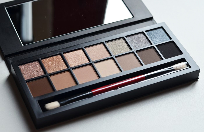beaute Revue et make up : palette Smashbox Full Exposure maquillage
