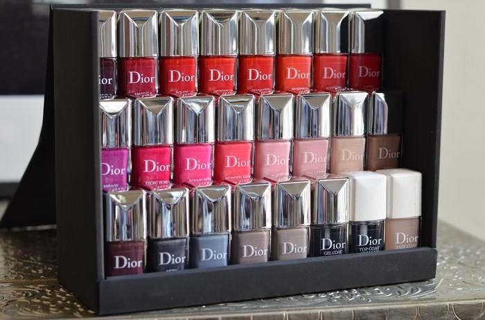 beaute Les nouveaux vernis Dior maquillage