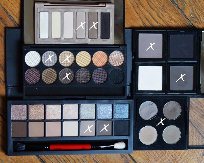 beaute Les palettes qui peuvent faire yeux et sourcils maquillage