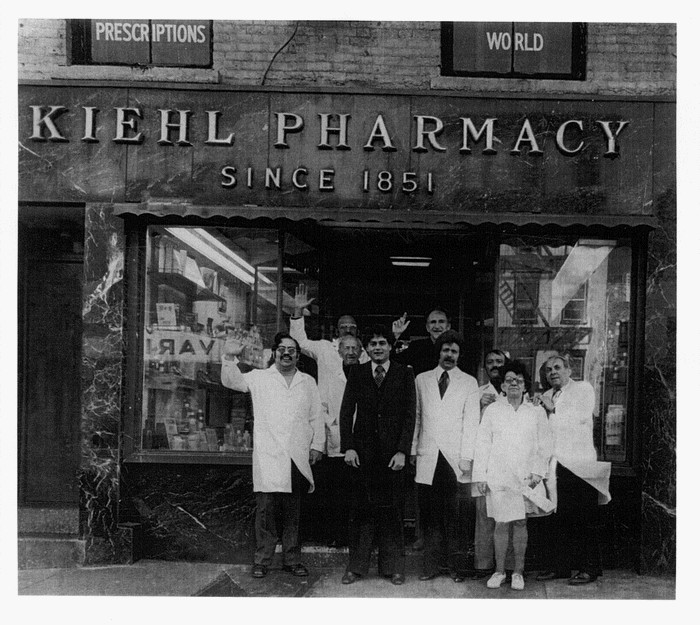 kiehl pharmacy