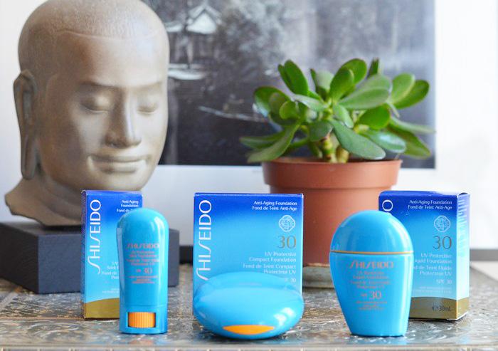 nouveaux solaires shiseido 700