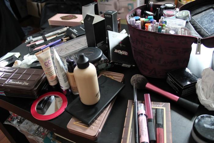 Maquillage après
