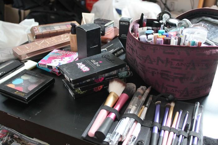 Maquillage avant