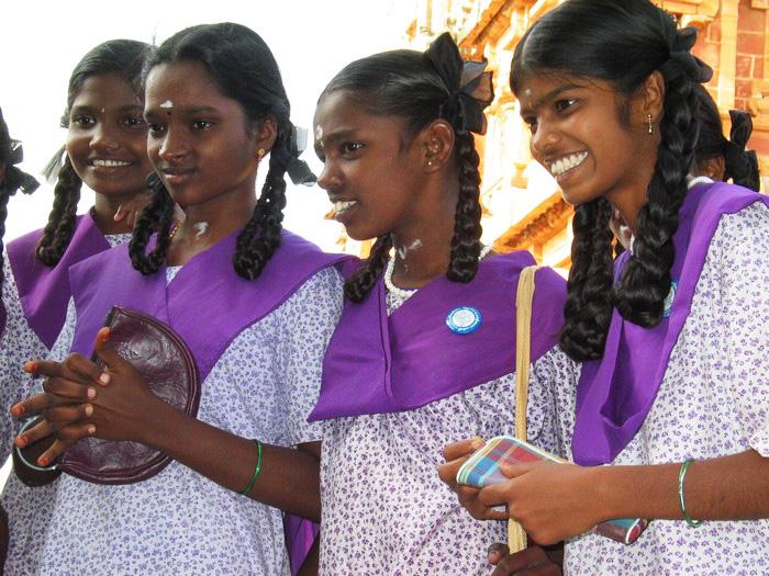 Tanjore - écolières
