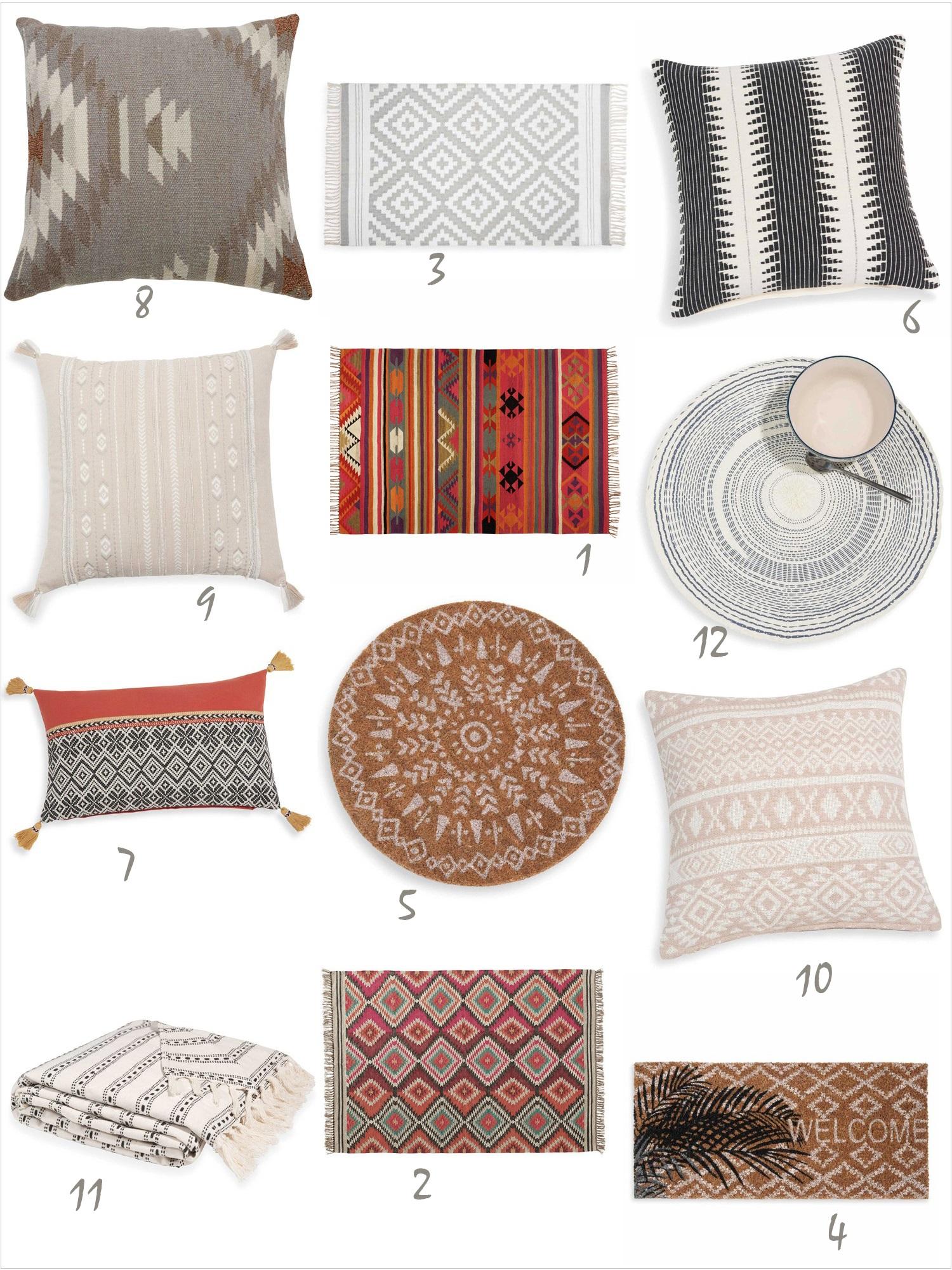 La ravissante ligne textile de maisons du monde mon blog de fille - Maison du monde en ligne ...